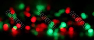 Christmas Light Blur Background