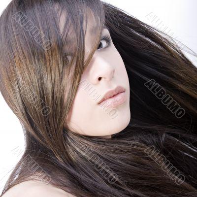 Beautiful portrait of a Vietnamese girl