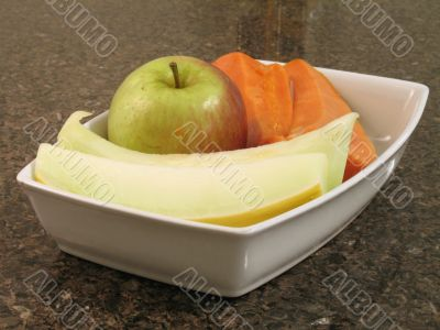 Fruits on plate - 3