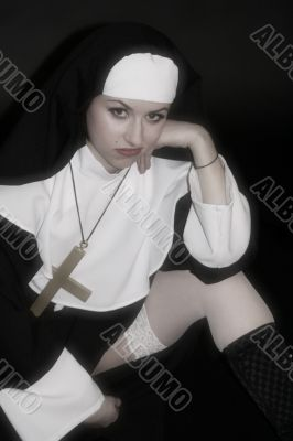 frustrated nun