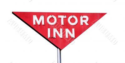 Motor Inn Isolated