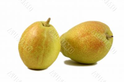 Two fragrant pears