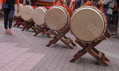 Japanese drums arrangement