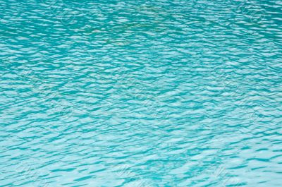 Refreshing water of swimming pool