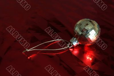 Gold Bauble Ornament