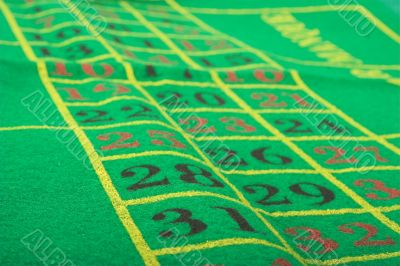 betting layout for roulette