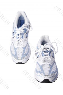 jogging shoes with clipping path
