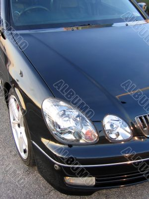Lexus luxury sedan