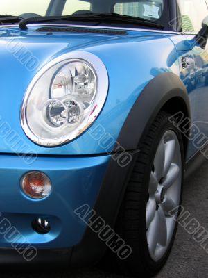 mini cooper headlight  (vertical)