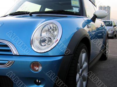 mini cooper headlight(horizontal)