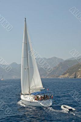 Yachting in Marmaris Bay