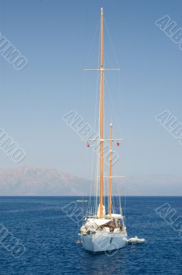 Solitary Yacht