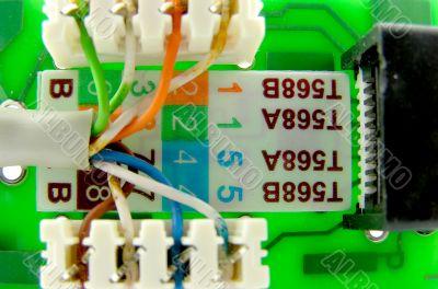 LAN connector.