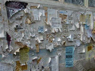 Street Advertising Deskboard
