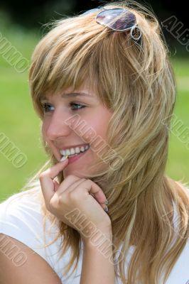 Beautiful happiness girl