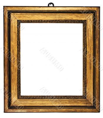 Picture Frame Cubic Gold - Path Included