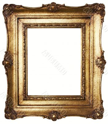 Picture Frame Gold - Path Included