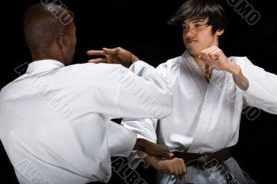 Karate fight