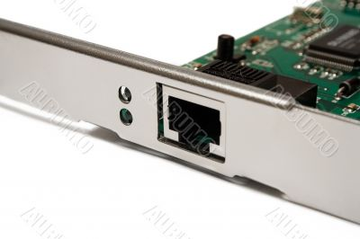 Network Card - Close View