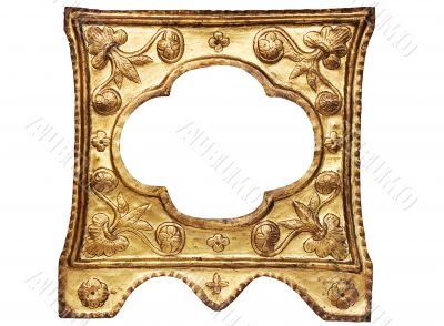 Artistic Golden Picture Frame w/ Path