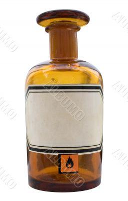 Apothecary Bottle w/ Path