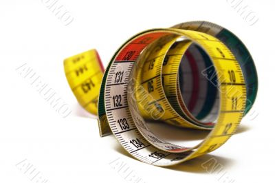 Rolled Measuring Tape