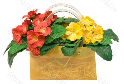 Bag with Flowers - Path Included