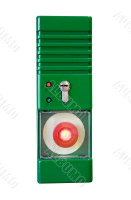 Emergency Button w/ Path - Front View