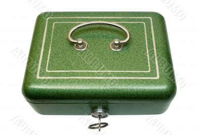 Closed Cash Box w/ Path - Top View