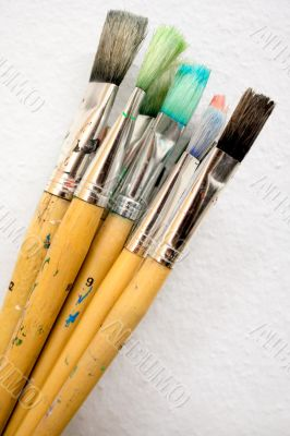 Bunch of Paint Brushes