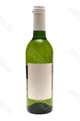 White Wine w/ Blank Label - Path Included
