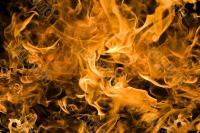 burning background