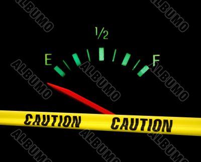 gas gauge warning