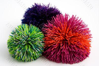 rubber add balls