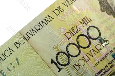 Ten Thousand Bolivares banknote
