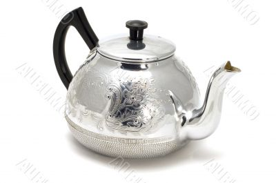 silver teaport
