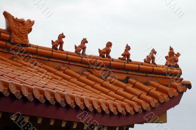 budhist temple detail