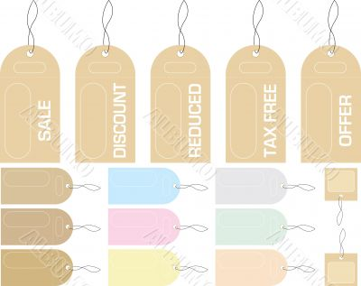 illustrated tags