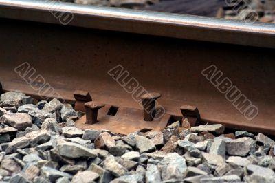 Railroad spikes