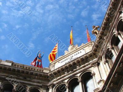 Barcelona. A wax museum