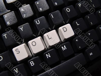 sold computer keyboard
