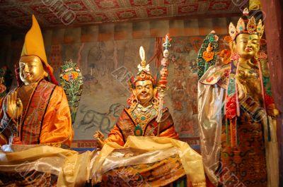 Three Tibetan Idols
