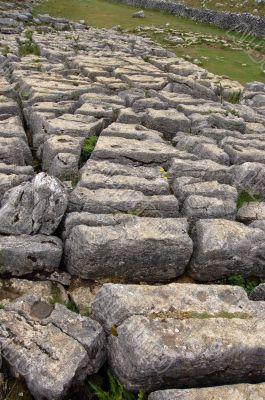 Limestone rocks above Malham