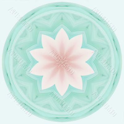 Pastel Flora Tile