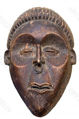 antique African mask