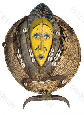 Vintage African mask