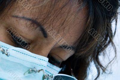 Hispanic female dentist