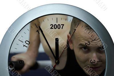 Clock sportive