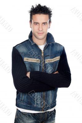 attractive casual boy
