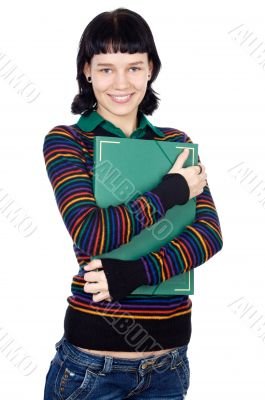 attractive girl student